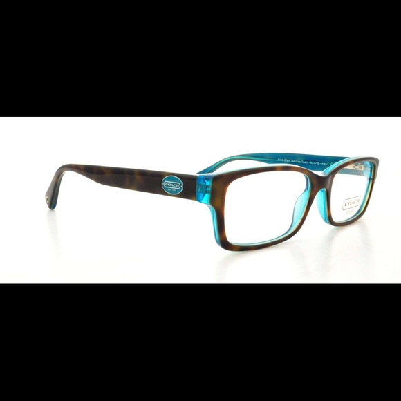 fc456eaf9bf0 Coach Accessories - Coach Brooklyn 5116 Teal RX Eyeglass Frames HC6040